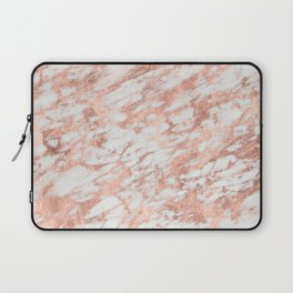 Blush Gold Quartz Laptop Sleeve
