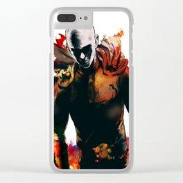 Saitama Clear iPhone Case