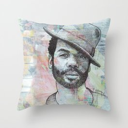Gary Clark Jr - When My Train Pulls In Throw Pillow