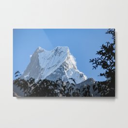 Machapuchare summit Metal Print