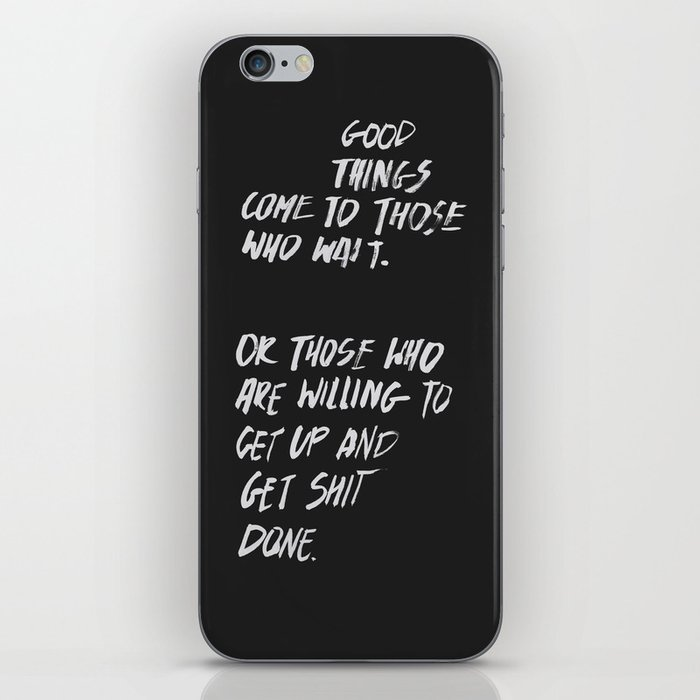 Good Things iPhone Skin