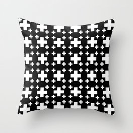 Jerusalem Cross 3 Throw Pillow