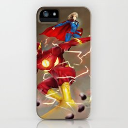 DC Heroes iPhone Case