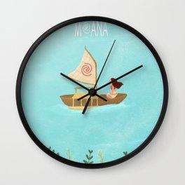 Moana Wall Clock
