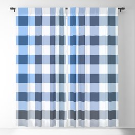 Colorful Checker 04 Blackout Curtain