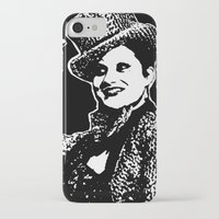 rocky horror picture show iPhone & iPod Cases featuring Columbia (Rocky Horror Picture Show) by Blake Lee Ferguson