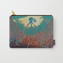War of the worlds Alien Artistic Illustration Blood Drops Style Carry-All Pouch