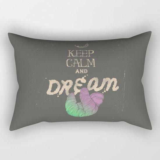 Keep Calm and Dream Rectangular Pillow