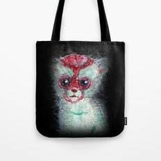 Kitty Popped Tote Bag