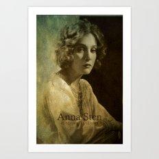 Anna Sten Art Print