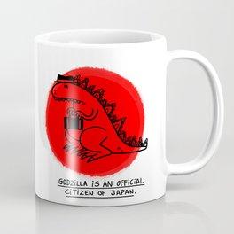 Godzilla Fun Fact Coffee Mug