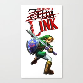 The Legend of Link Canvas Print