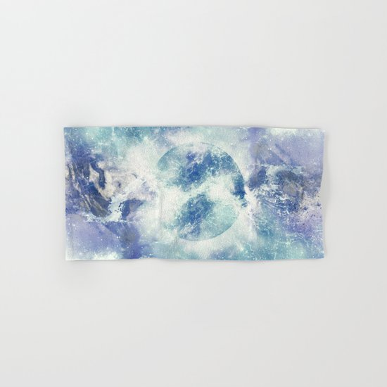 Universe Atoms Stories Hand & Bath Towel