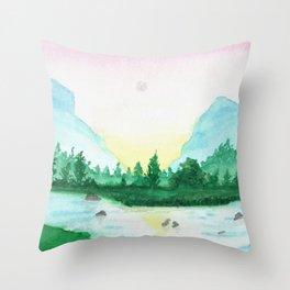 Just A Little Longer Throw Pillow