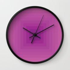 Colour Field v.1 Wall Clock