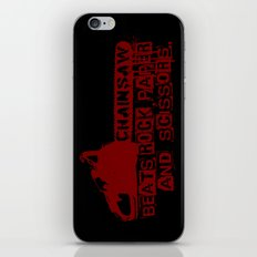 chainsaw wins iPhone & iPod Skin