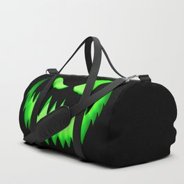 Evil Green ghost Duffle Bag