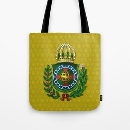 Dom Pedro II Coat of Arms Tote Bag