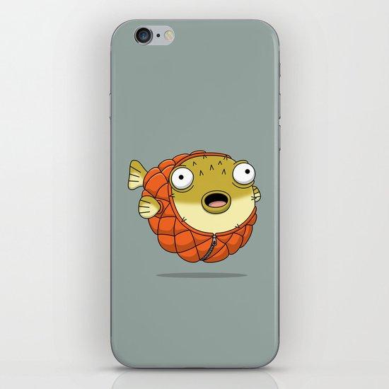 Puffer fish iPhone Skin