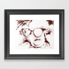 The Visionary Sepia Framed Art Print