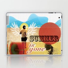 Summer is Gone Laptop & iPad Skin