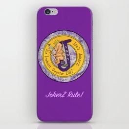 Joe' Jokerz iPhone Skin
