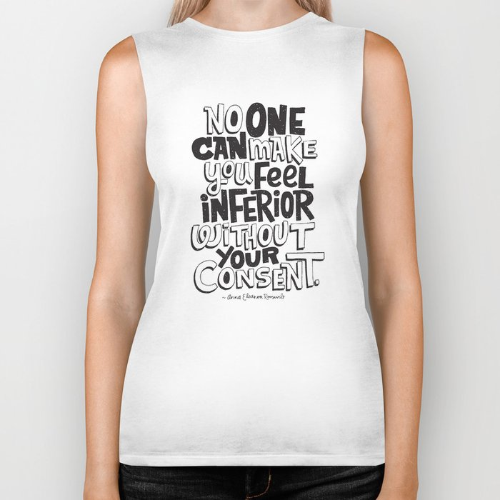 without your consent Biker Tank