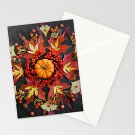 Nature Mandala: October Stationery Cards