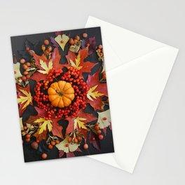 Nature Mandala: October Stationery Cards
