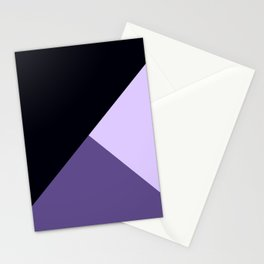 Trinity Color Block Ultra Violet Stationery Cards