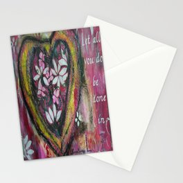 Let All You Do Stationery Cards