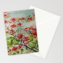 Blossoms at Notre Dame Stationery Cards