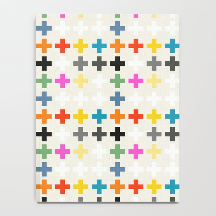 Cross Pattern Notebook