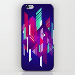 Shattered and Stained iPhone Skin
