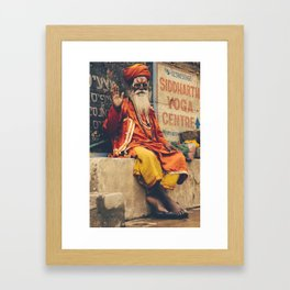 guru Framed Art Print