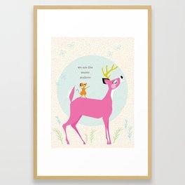 Music Makers (Pink) Framed Art Print