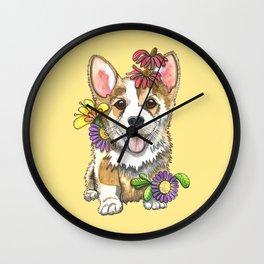 Corgi Cutie Wall Clock
