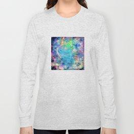 Neon Abstract Design 2 Long Sleeve T-shirt