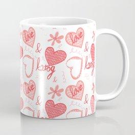 Love is K2tog (knit together) Coffee Mug