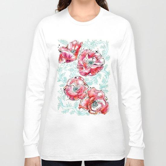 Poppies & Vines Long Sleeve T-shirt
