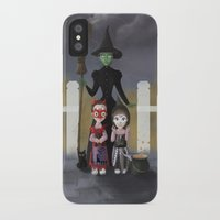 coven iPhone & iPod Cases featuring Coven by Rustic robin designs