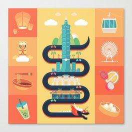 Taipei Taiwan Canvas Print