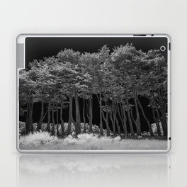 Infrared Monterey Cypress (Cupressus macrocarpa) in California on Pacific Coast Highway Laptop & iPad Skin