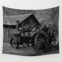 Take Me Back in Time Wall Tapestry