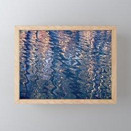 water is an artist I Framed Mini Art Print