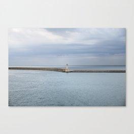 Lighthouse. Livorno. Tuscany. Italy Canvas Print