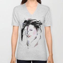 Fashion Painting #7 Unisex V-Neck