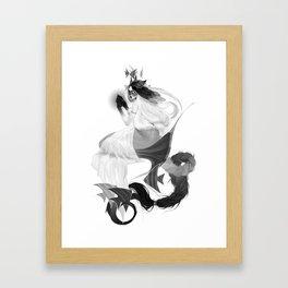 angelfish Framed Art Print