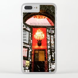 Search & Destroy Clear iPhone Case