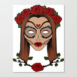 Soulless Red Canvas Print